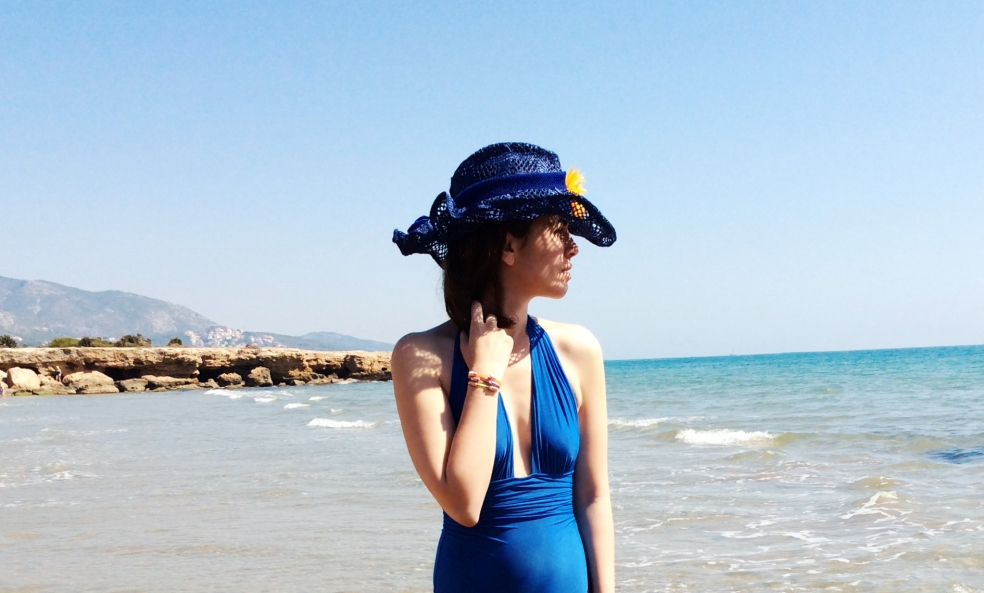 Perfil sombrero azul